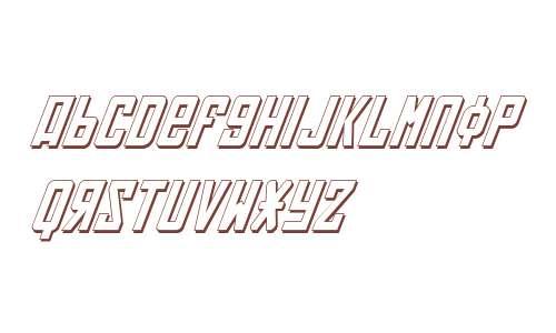 Soviet 3D Italic V2