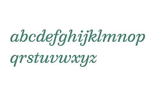 QuixoWeb-Italic W03 Regular