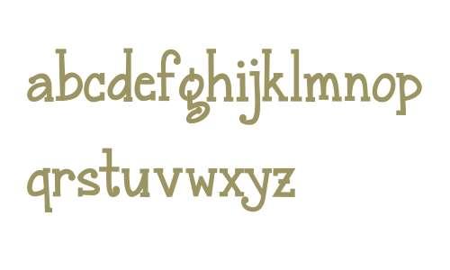 Janda Snickerddl W00 Serif Bd