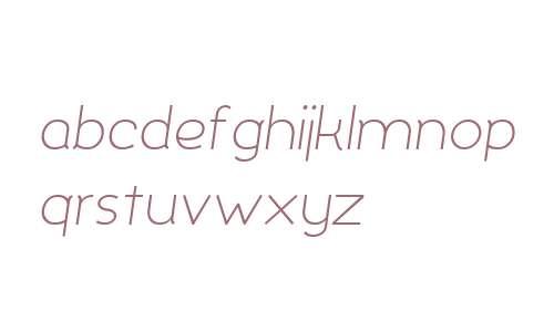 Silo Light Italic