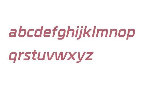 Metral W00 Bold Italic