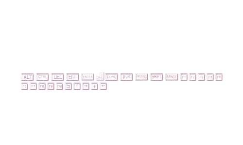 Keycaps Regular