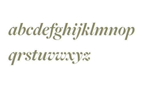 FreightBig W03 Bold Italic