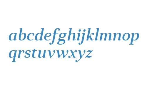 Anglecia Pro Text Medium Italic