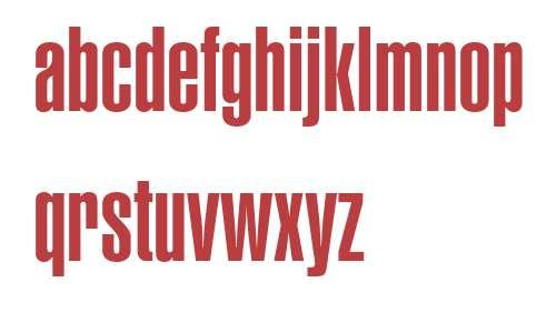 Helvetica LT Pro UltCompressed