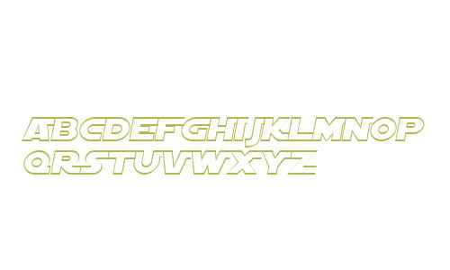 SF Distant Galaxy AltOutline Italic V1 V2