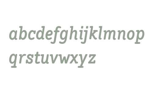 Hellschreiber Serif W00 Bold It