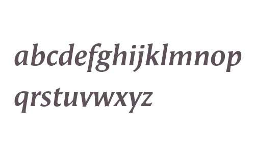 Angie Offc W02 Bold Italic