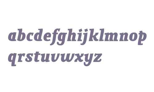 Poseidon W01 Bold Italic
