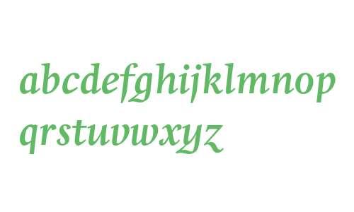 Whitenights LT Std Bold Italic