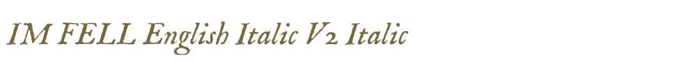 IM FELL English Italic V2