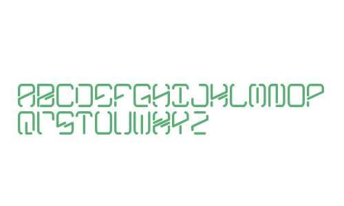 Kyber Crystal Display High Alphabet