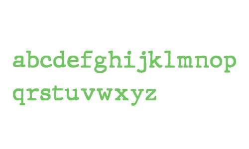JMH Typewriter Bold