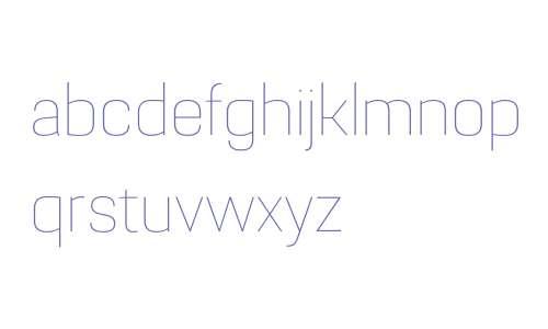 Grafia Sans 1 W01 Thin