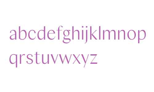 Columbia Sans W Disp XLight