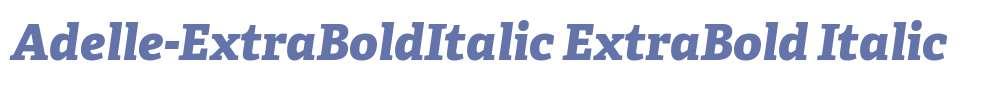 Adelle-ExtraBoldItalic