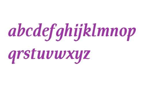 Tarquinius OT W03 Bold Italic