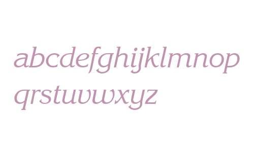 Enchanted Italic
