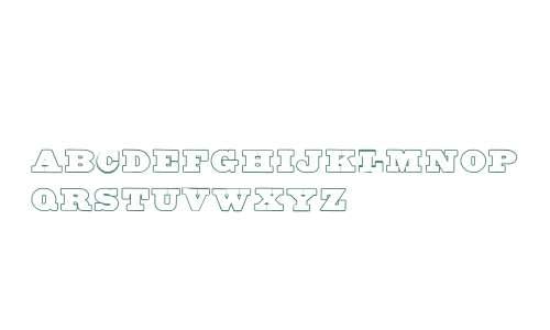 UntitledWoodTypeOutline W90 Rg