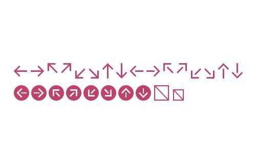 Klavika Arrows