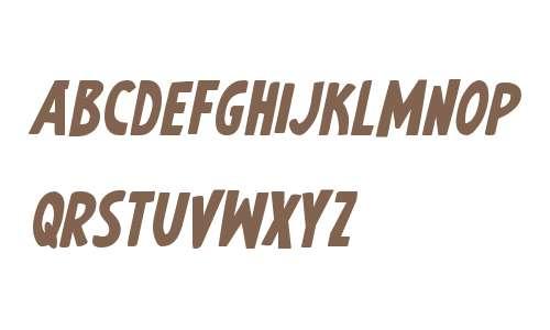 Earth's Mightiest Bold Italic