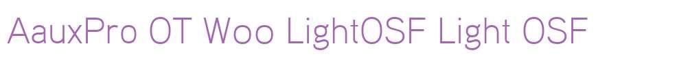AauxPro OT W00 LightOSF
