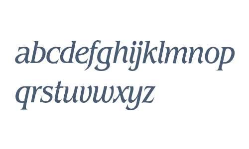 Benguiat* Condensed Book Italic