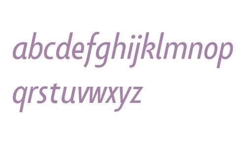 Taffee W01 Book Italic