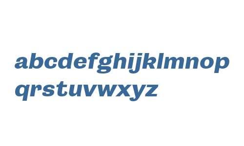 Campaign W00 Bold Italic