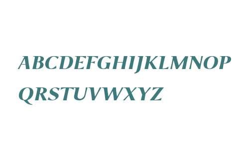 P22 Foxtrot Sans W01SC Bd It SC