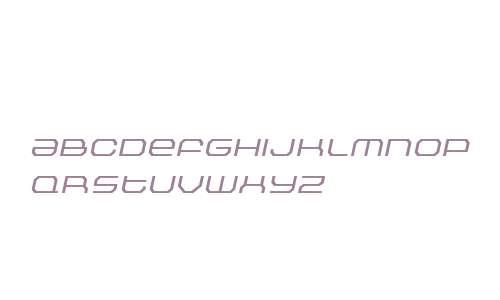 Outlander Nova W00 Light Italic