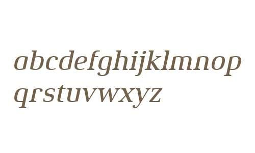 Xenois Serif W04 Medium Italic
