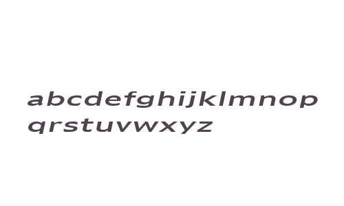 Adams Extended Italic
