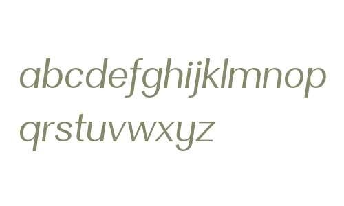 Clasica Sans W00 Book Italic