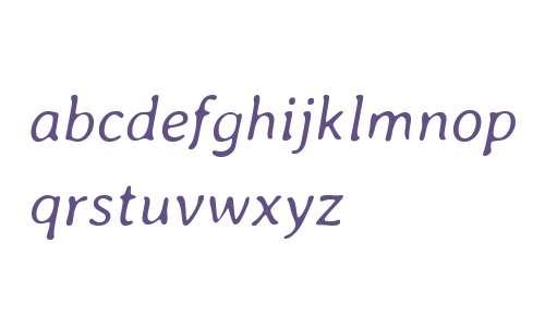 Averia Libre Light Italic
