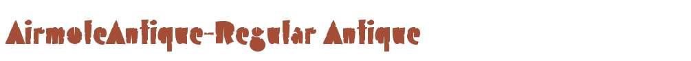 AirmoleAntique-Regular