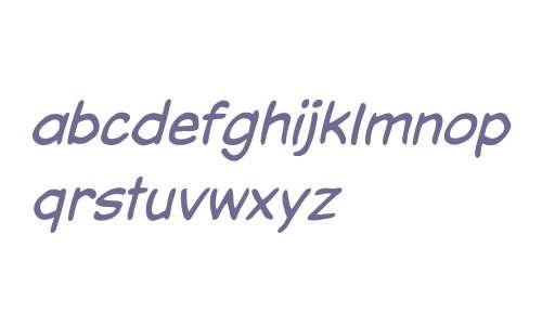 CCDaveGibbonsLower W00 Italic