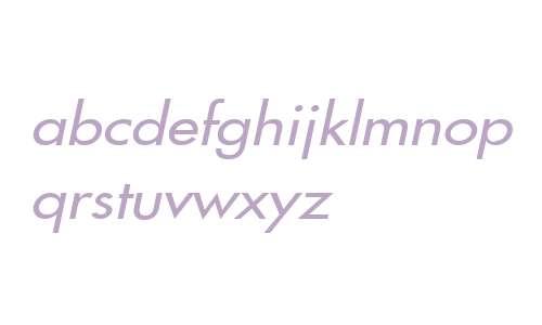 Fusi Wide Italic