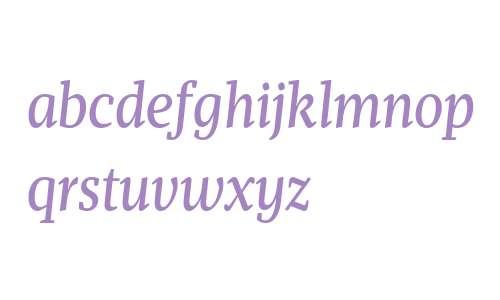 Mafra Condensed Book Italic
