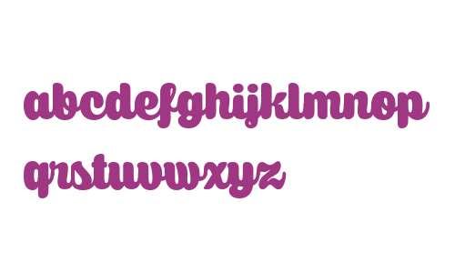Caprica Script Upright W03 Rg