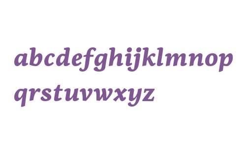 PF Centro Serif W01 Black It