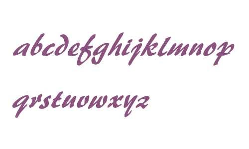 Brushstroke 35 Italic