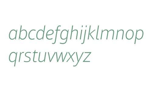 Mayberry W01 Light Italic