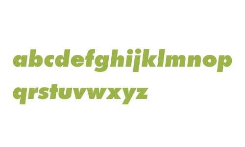 Futura PT Extra Bold ItalicW08