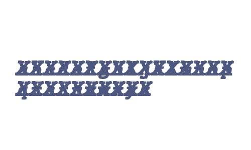 JMH Typewriter mono Black Cross Italic