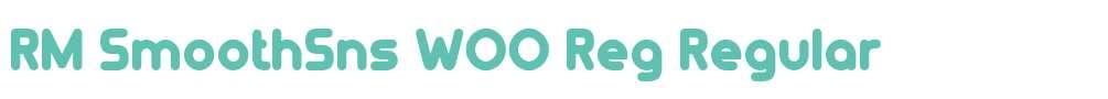 RM SmoothSns W00 Reg