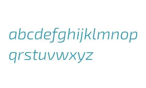 Exo 2 Light Italic