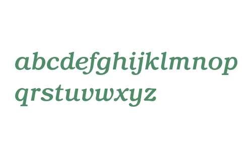 ITC Bookman Medium Italic