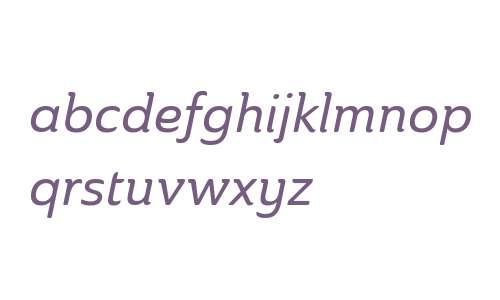Ainslie W01 Norm Medium Italic V2
