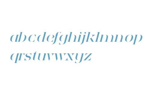 Sensaway Italic